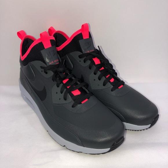 Fashion Wholesale Nike Air Max 90 Ultra Mid Winter Black